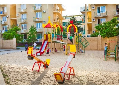 Пансионат  Фея-3 Анапа | Развлечения для детей (детская площадка)