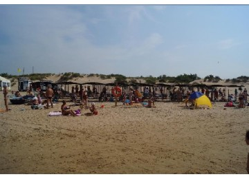 Собственный пляж Пансионат Фея-3 Анапа